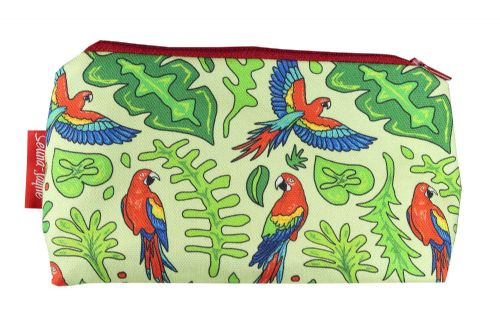 Selina-Jayne Parrots Limited Edition Designer Cosmetic Bag